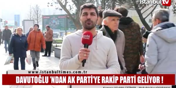 Ahmet Davutoğlu'ndan yeni parti geliyor!