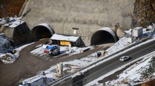 Eğribel Tünelinde İkmal İnşaatına Başlandı