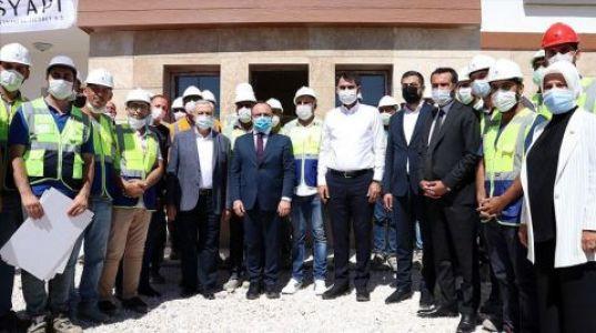 Elazığ'da 8 Bin Konut Yılsonuna Kadar Teslim Edilecek