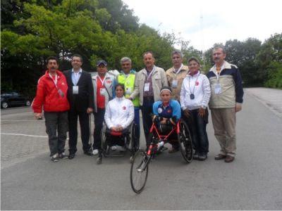 Engelli Sporcular Dünya Şampiyonası'nda