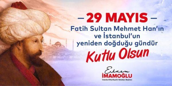 İstanbul 567.Fetih Yıldönümüne Coşkulu Kutlama