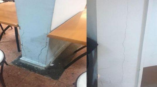 İÜ Vefa Ek Binasındaki Çatlaklar Korkutuyor