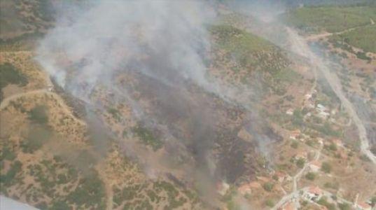 Muğla'da Orman Yangını.
