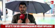 Bitlis Ahlat'ta yeni bir Cumhurbaşkanlığı...