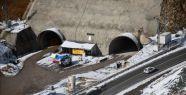 Eğribel Tünelinde İkmal İnşaatına...
