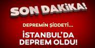 İstanbul ' da Korkutan Deprem...