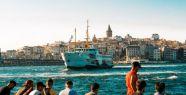 İstanbul'a Gelen Turist Sayısı Yüzde...