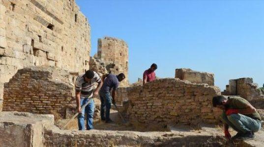 UNESCO Adayı Harran Sarayı'nın Tarihi Netleşiyor