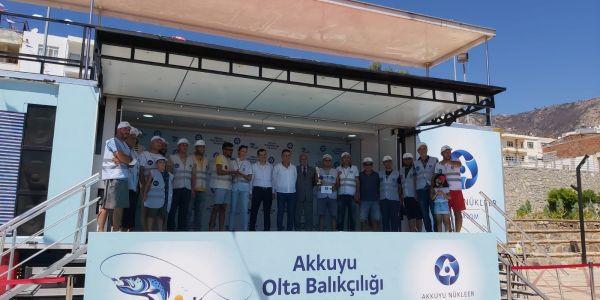 Akkuyu Nükleer A.Ş. Akkuyu Ngs inşaatı Bölgesinde Balıkçılık Yarışması Düzenledi