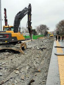 Eminönü-Alibeyköy Tramvay İnşaatı Çökmeye Rağmen Tamamlanıyor