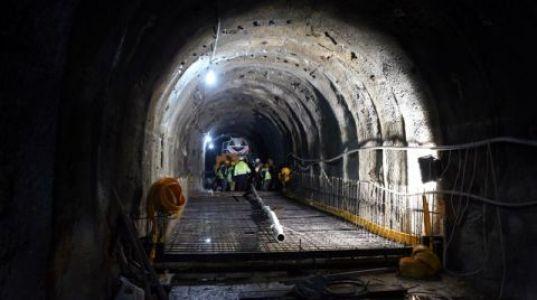 Karadere Tüneli'nde Sona Gelindi