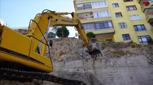 Keçiören Belediyesi İstinat Duvarı Problemi için Çalışma Başlattı