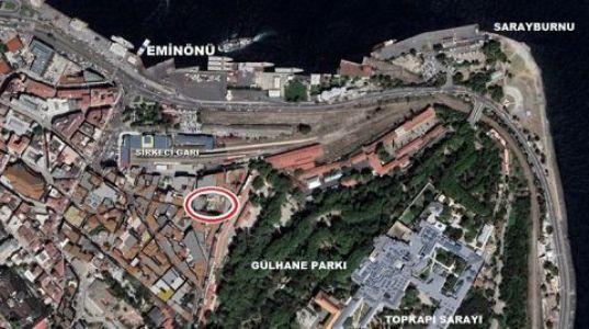 Sirkeci'deki Tartışılan Arazi İBB Gündeminde