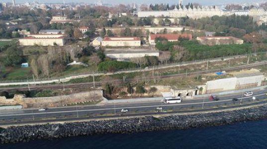 Topkapı Sarayı'na İstinat Duvarlı Önlem
