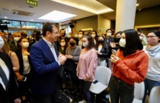 İmamoğlu'ndan 'yurt açıklaması': Aile vakıflarınıdeğil,...