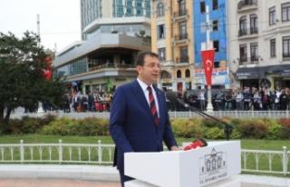 'İstanbul'un Kurtuluşu' Taksim'de kutlandı