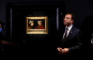 Başkan İmamoğlu, Fatih'in tablosunuOsmanlı...