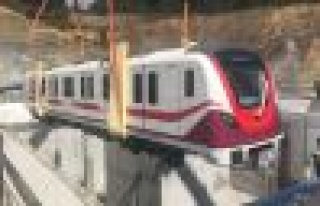 Havalimanı Metrosu'nda İlk Tren Raylara İndi