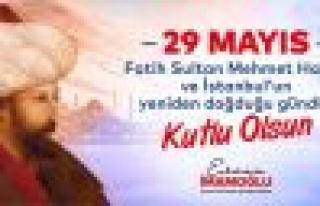 İstanbul 567.Fetih Yıldönümüne Coşkulu Kutlama...