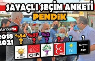 "(SAYAÇLI)PENDİK'TE""AKP""Lİ İLE HDP'Lİ SEÇMENİN TARTIŞMASINA POLİS EL ATTI,HDP'Lİ GÖZ ALTINA ALINDI"